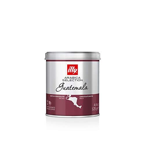 illy Caffè Macinato Moka Arabica Selection Guatemala - 12 Barattoli da 125 Gr
