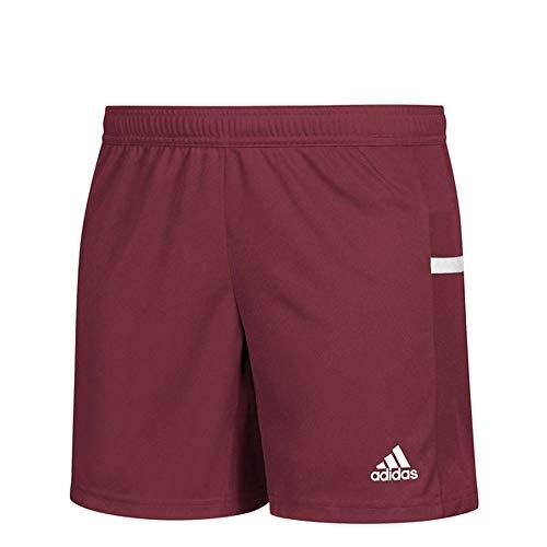adidas Team 19 Knit Short - Women's Multi-Sport XS Collegiate Burgundy/White