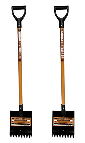 Shingle Stripper: (2 Pack) by MBI Tools - Roof Tear Off Shingle and Nail Removal Tool