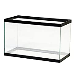 High quality glass construction For freshwater and marine applications Clean silicone edges Always include a drip loop when plugging aquarium appliances into the electrical outlet Place aquarium on a stand that is able to safely bear the weight of a ...