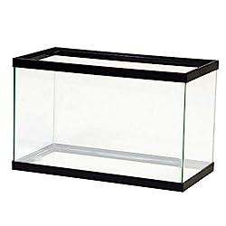 Aqueon 10-Gal Black Aquarium