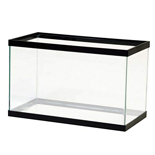 Aqueon Standard Glass Rectangle Aquarium 10, Clear