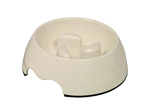 Nobby Anti-Schling Napf cremeweiß M:17,5 x 6,5 cm, 400 ml