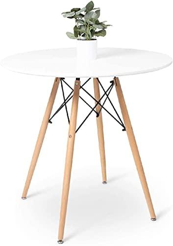 Matbord - Litet runt matbord - Kan rymma 2 till 4 personer