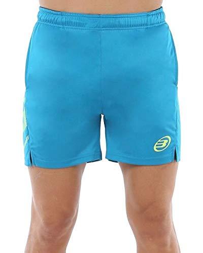 Bullpadel Short Chubut Pantalón Corto, Hombre, Azul atomico, XL