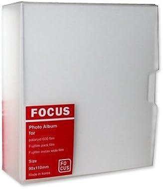 Ace Select Photo Album for Polaroid 600 2 Pieces Photo Book PVC Picture Album for Fujifilm Instax Wide 210 Wide 300 Films