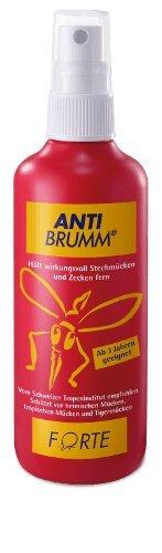 Anti Brumm® Forte Spar-Set 3x75ml. Wirksamer Schutz gegen Mücken, Zecken, Fliegen & Co.