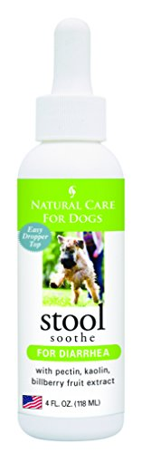 Natural Care for Dogs; Stool Soothe for Diarrhea with Pectin, Kaolin, Bilberry Fruit Extract; 4 fl....