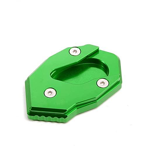 Soporte Lateral para V&ersys 300 para V&ersys X300 para V&ersys X250 para VERSYSX300 Motocicleta CNC Pata Cabra Lateral Soporte Extensión Ampliador Pad Plataformas Chasis Moto (Color : A)