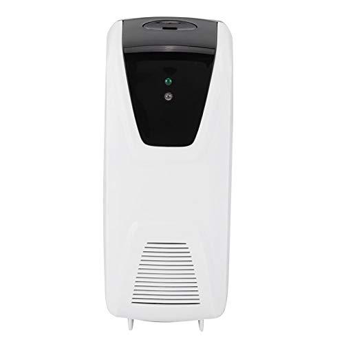 Gaeirt Ambientador, Dispensador de rociador de Fragancia ABS Montaje en Pared con Sensor de luz Interior para el área de Salud pública del hogar