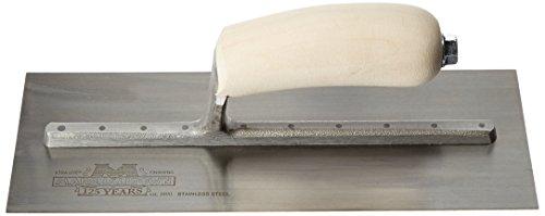 Marshalltown Mxs1ss Truelle acier inoxydable 27,9 x 11,4 cm