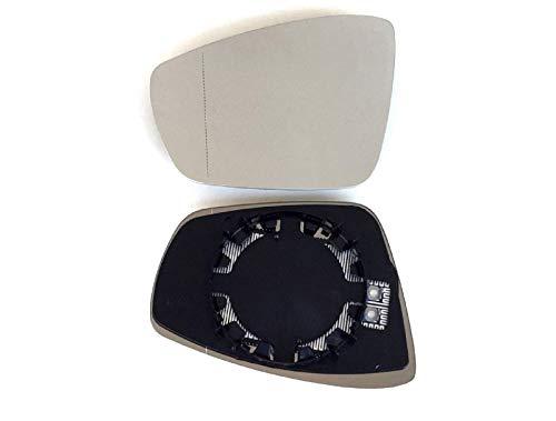 Specchio Vetro Specchietto Sinistro pro ! Carpentis Compatibile Con Polo 6R 06/2009 fino A 12/2016,6R/6C 09/2017, Up Anno Costruzione 09/2016 Riscaldabile Per Elettrico E Manuale Regolabile Idoneo