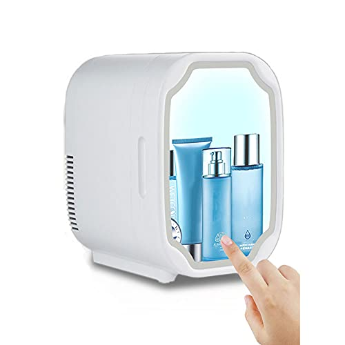 8l Mini Nevera De Belleza DirigiÓ Nevera Para El Cuidado De La Piel MáS FríO/MáS CáLido Congelador Para Dormitorio Coche