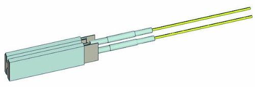 白光(HAKKO) ハッコー 簡易型シーラー機 ビニレイド300用 交換部品 ヒーター/ヘラ型 40W(100V) 300-H