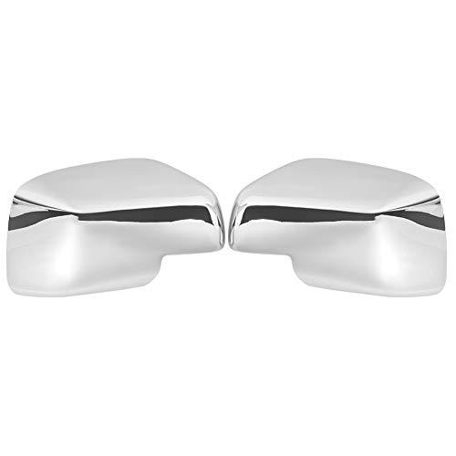 Copri specchietto retrovisore, 2 pezzi copri specchietto retrovisore cromato adatti per Discovery/Freelander 2/Range Rover Sport