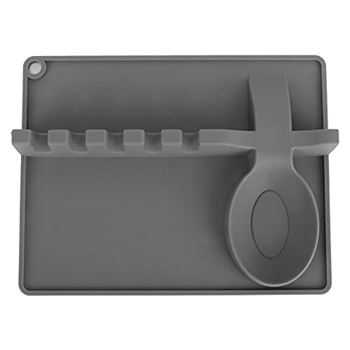 Counter Spatel Holder, Silicone Utensil Rest 5 Slots och Spoon Holder for for Ladle