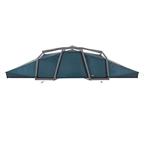 Nias Classic Tunneltent voor 4-6 personen, opblaasbaar pop-up-tent, in enkele seconden opgebouwd, waterdicht, outdoor camping, 5000 mm waterkolom, geen tentstokken nodig