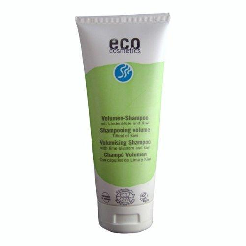 Eco Cosmetics–Volumenschampoo, veganes Shampoo, Ohne Mikroplastik, Naturkosmetik, 1x 200ml
