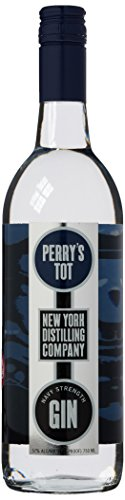 Photo of New York Distilling Perry's Tot Navy Strength Gin, 75 cl