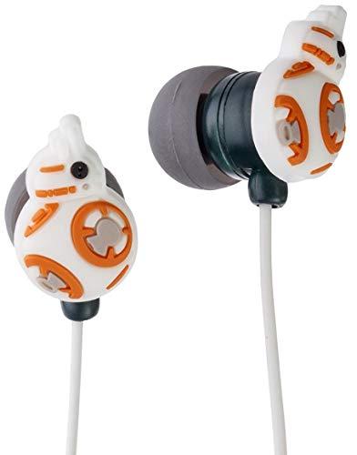 Jazwares Disney BB-8 Earbuds / In-Ear Headphones, Star Wars: Episode VII The Force Awakens