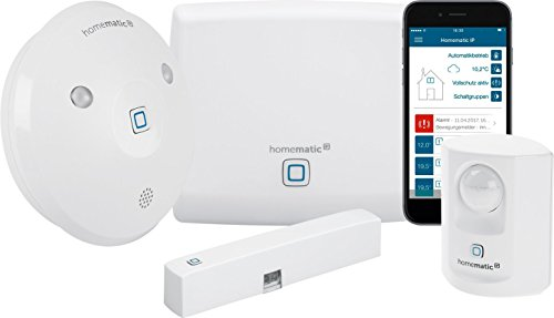 Homematic IP Smart Home Starter Set Alarm - Intelligenter Alarm auch...