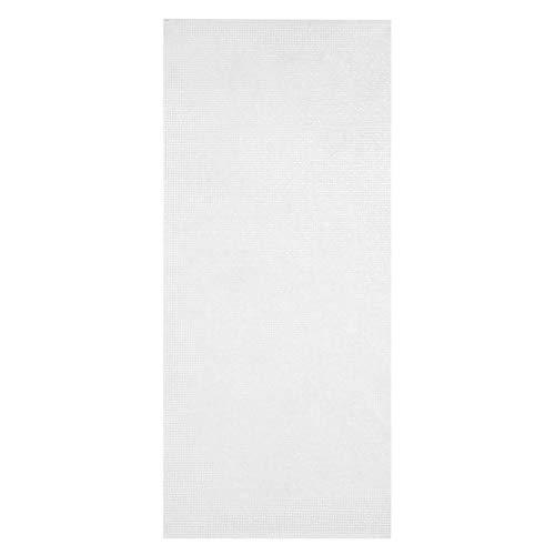 Emoshayoga Mosaik Selbstklebende hitzebeständige Bodenaufkleber Kein Kleber Stick Fliese Anti-Schimmel-Heimdekoration für Schlafzimmerwände Waschküchen(FX9100 Silver)