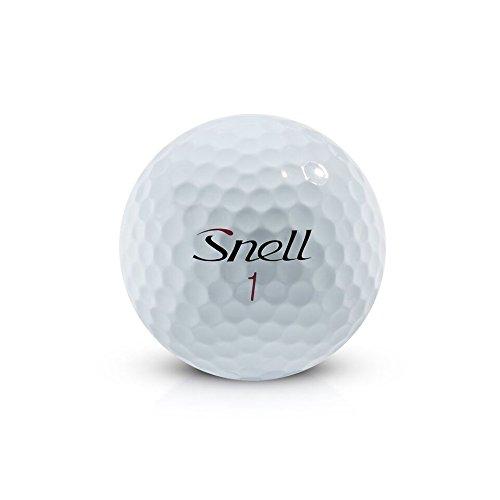 Snell MTB Black My Tour Golf Balls, White (One Dozen)