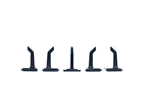 5er Pack Werkzeughaken Kleiderhaken und Gerätehaken passend für Toolflex Schienensystem