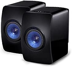 KEF LS50 Wireless Powered Music System (Black, Pair)