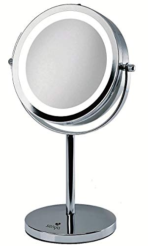 Miroir Grossissant Lumineux de Maquillage Double Face SYWB-LM007
