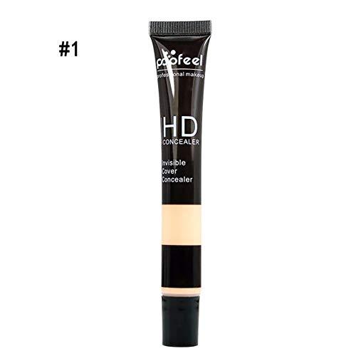 1PC HD Correcteur de Teinture Perfection Durable Correcteur d'Utilisation Ultime pour Maquillage de Base Correcteur Multi-Usage (1Fair)