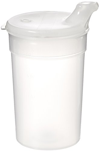 SP Ableware 745880000-1 Maddak Flo-Trol Convalescent Feeding Cup Transparent Universal