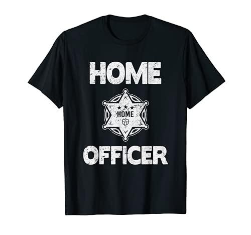 Home Office TShirt Geschenk Männer Sheriff Lustig Homeoffice T-Shirt