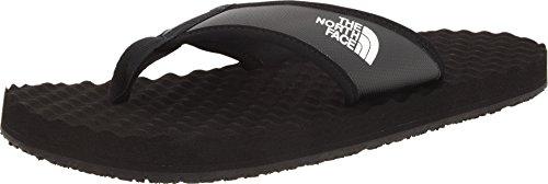 The North Face M Basecamp Flipflop, Zapatos de Playa y Piscina para Hombre, Negro (002-Black/ Black), EU 44.5 (10 UK/11 US)