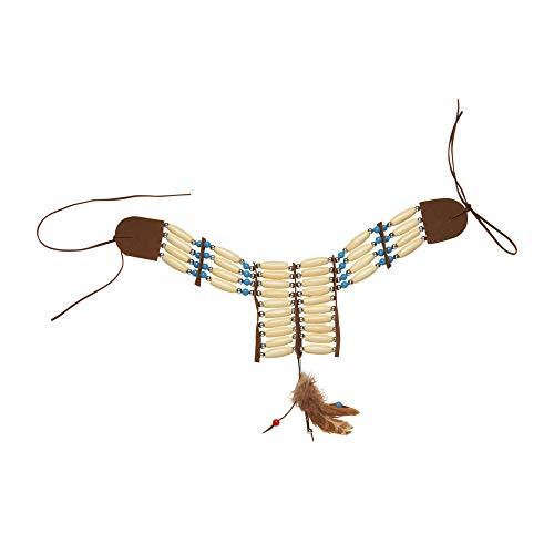 Widmann 9408K - Indianer Halsband, Halskette, Schmuck