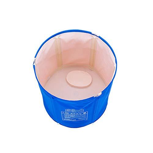 Tina Plegable Para Adultos,Bañera Plegable for Adultos Piscina de Plástico for Bebés Baño for Niños Barril Hogar Bañera Portátil Grande