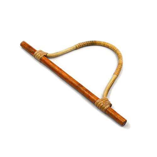SimpleLife Bambus Handtasche Griffe, Rattan Geldbörse Kleiderbügel Handtasche Griffe DIY Handtasche Ersatz Zubehör