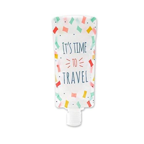 ADSIKOOJF Lotion, inklapbaar, aparte opbergtas voor op reis, zakelijke emulsie, draagbaar, shampoo, Squeeze make-up container