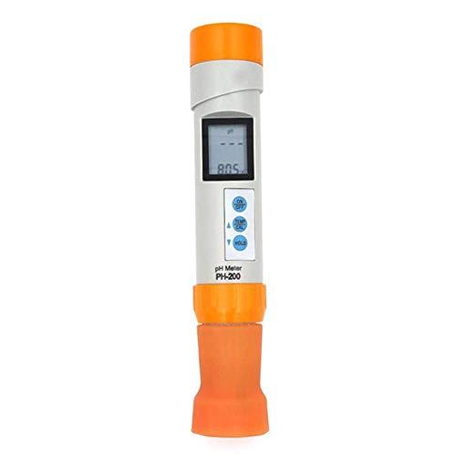NBVCX Piezas de maquinaria Medidor de pH de Temperatura Digital PH-200 Detector de pH Monitor de Cal