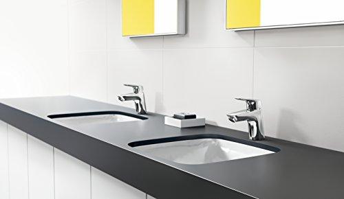 Hansgrohe – Einhebel-Waschbeckenarmatur, Ablaufgarnitur, CoolStart, Chrom, Serie Logis 70 - 2