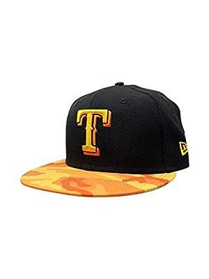 New Era Texas Rangers Adjustable 9Fifty MLB Straight Brim Baseball Cap 950