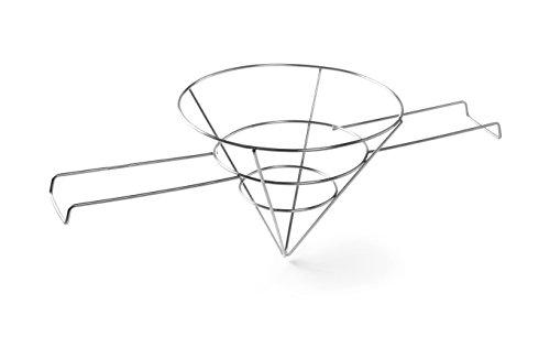 HENDI Vetfilterhouder voor friteuse - Lichtgrijs - ø250x(H)200 mm