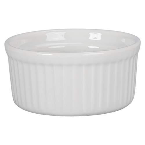 BIA Cordon Bleu 4–1/56,7 gram ramequins en porcelaine, Lot de 4