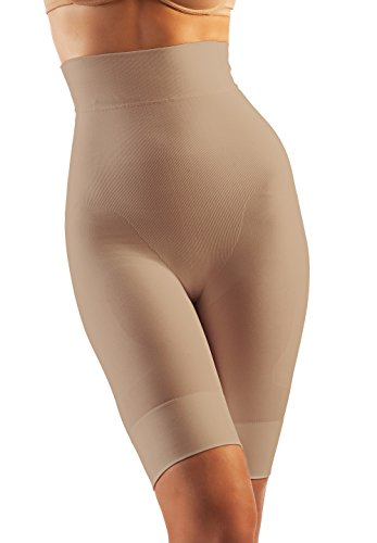 Oakeys/ì COK03 Shorts Modellanti Vita Alta Cotone Guaina Contenitiva Pancia Fianchi Push up