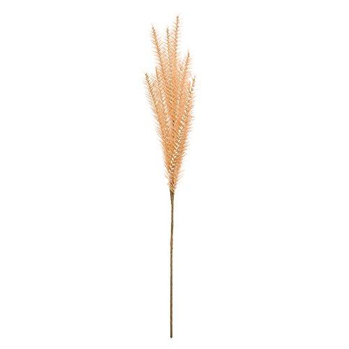 Lazzboy Künstliches Gefälschtes Gras-süßes Blumendekor Gefälschte Blume Hufeisenshelmgrases Seide Rebe Hängende Garland Pflanze Hausgarten Hochzeit Dekoration Zuhause Party Dekor(E)
