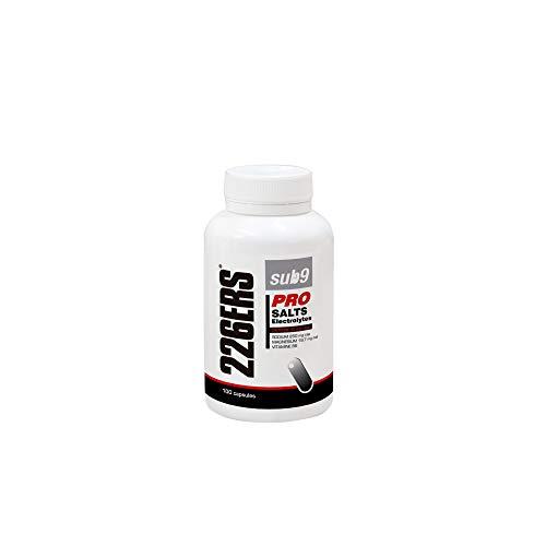 226ERS Sub9 Pro Salts Electrolytes, Sales Minerales con Vitaminas y Cafeína, Electrólitos - 100 cápsulas