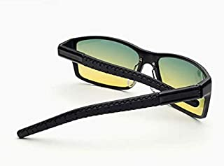 High-end aluminum magnesium driving polarized sunglasses for day and night for men 8554-1
