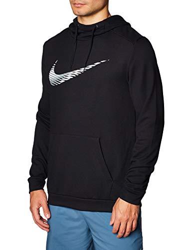 Nike Dry Po Swoosh Felpa Uomo, XL, Nero (Black)