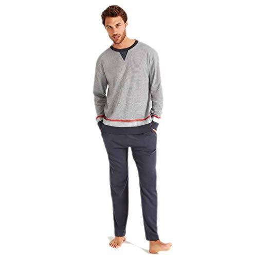 PROMISE Conjunto para Hombre de Pijama y Bata H31843 -