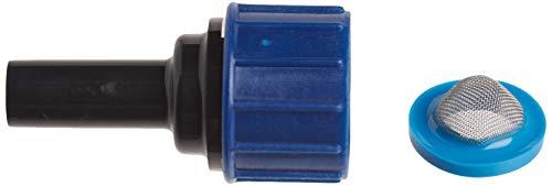 Raindrip R325C 3/4-Inch Hose Thread Swivel to 1/4-Inch Tubing Adaptor